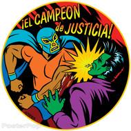 Almera Campeon de Justica Sticker Image