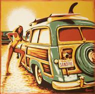 Almera San-O Sticker Image