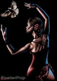 Almera Paloma Blanca Sticker Image