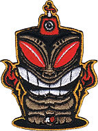 Chico Von Spoon Tiki Patch Image
