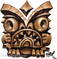 BigToe Agrro Tiki Sticker Image
