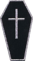 Cross Coffin Patch Image