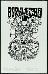 Ben Von Strawn Original Blackline - Born Weirdo Image