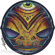 Doug Horne Eye Of The Tiki Sticker Image