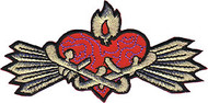 Chuckwagon Sacred Heart Patch Image