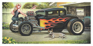 Weesner Lew Dog Signed Art Print Image