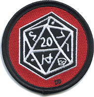 Dirty Donny D20 Dungeons and Dragons Dice Patch Image
