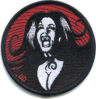 Dirty Donny She Drips Blood Blacklight Poster Image Patch