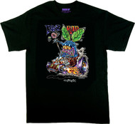 Von Franco Fly Rod T Shirt, Wacky, Hot rod, Monster, Monster Fly, Beatnik, Ed Roth, Cartoon, Finny, Donut, Shifter, Car