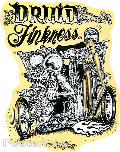 Von Franco Druid Finkmess Sticker