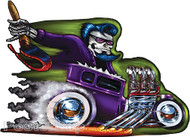 Von Franco Purple Demon Sticker