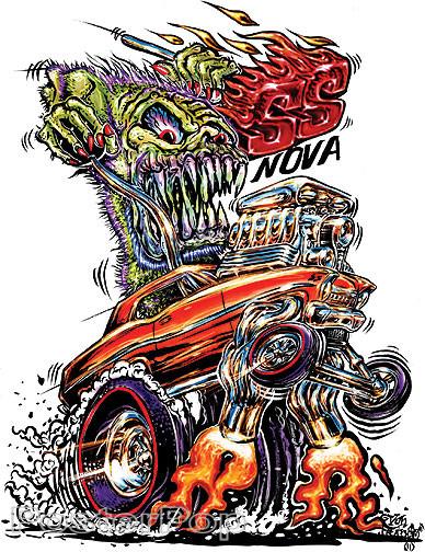 Von Franco SS Nova Sticker