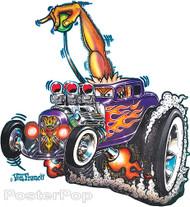 Von Franco The Monster Shifter Sticker