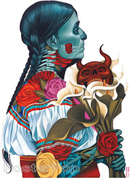 Gustavo Rimada Rosa Sticker Image