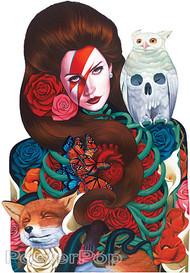 Gustavo Rimada Born From Stardust Sticker Image