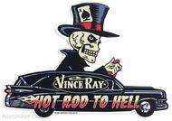 Vince Ray Hearse Die Cut Poster Pop Sticker