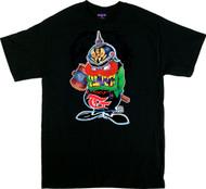 Ben Von Strawn Gremlin T-Shirt Image, Character, German, Gremmie, Iron Cross, Kaiser, WW1, Kraut, Hammer, Mallet