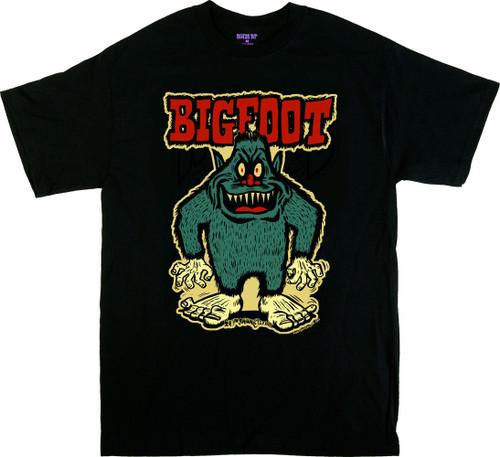 Ben Von Strawn Bigfoot T-Shirt, Sasquatch, Big Tennis Shoes, Cartoon, Monster