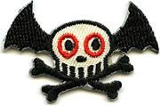 Von Spoon Batty Skull Patch Image