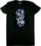 Derek Yaniger Jet Set Woman's Tee, T-Shirt, Babydoll, Shirt, Cocktail, Martini, Space, Martian, Alien, Swank. Swanky, Shaker, Fishnet Stockings, Sexy, Pinup, Cartoon, Girl, Spacesuit, Tux, Tuxedo, Martini Glass