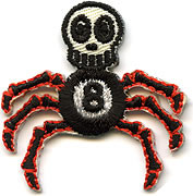Von Spoon 8 Ball Spider Patch Image