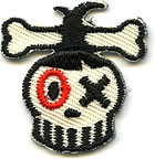 Von Spoon Shrunken Skull Patch Image