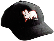 Kozik Original Smokin Bunny Hat Red Outline