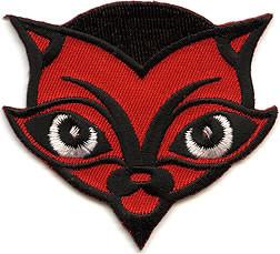 Von Spoon Devil Cat Patch Image