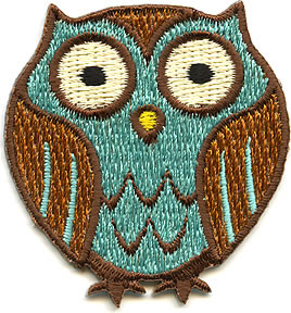 Von Spoon Owl Patch Image
