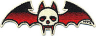 Illicit Bat Skull Patch Image