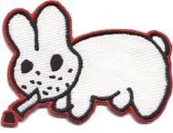 Kozik Smoking Bunny Patch Image