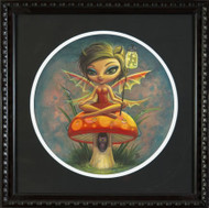 Aaron Marshall - Red Pixie Fine Art Print