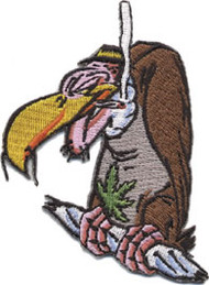 Kozik Jay Bird Patch Image