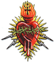 Almera Electric Heart Patch Image