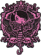 Misery Butterfly Bettie Patch Image