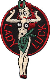 Lady Luck Patch Image