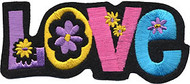 Flowered Love Patch Image