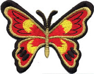 Red Butterfly Patch Image