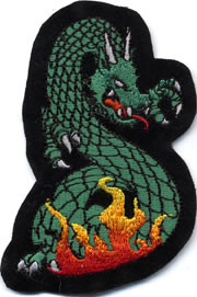 Dragon Black Patch Image