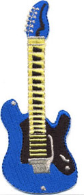 Blue Guitar Patch Image