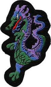 Purple Dragon Patch Image