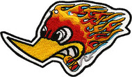 Flame Pecker Patch Image