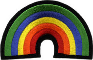 70's Rainbow Patch Image