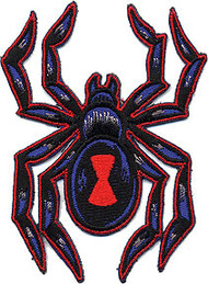 Reed Black Widow Patch Image