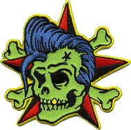 Reed Rockin Billy Patch Image, Rockabilly, Elvis