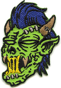 Reed Zombie Wolf Patch Image