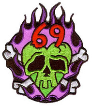 Kruse Monster Heart Patch Image