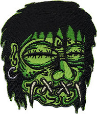 Kruse Shrunken Head Patch Image