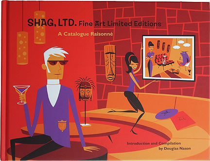 SHAG LTD Fine Art Limited Editions Book Image