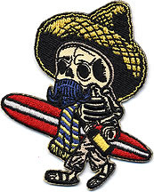 Kruse El Borracho Surfer Patch Image